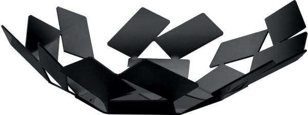 alessi porta oggetti nero