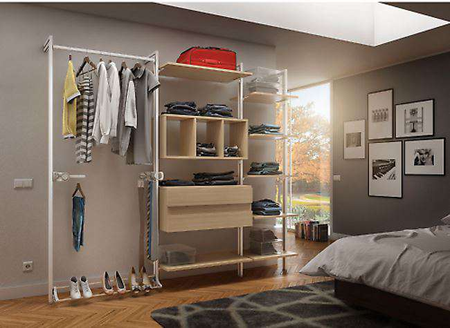 Cabina armadio elegante con o senza tubi quale comprare - Cabine armadio idee ...