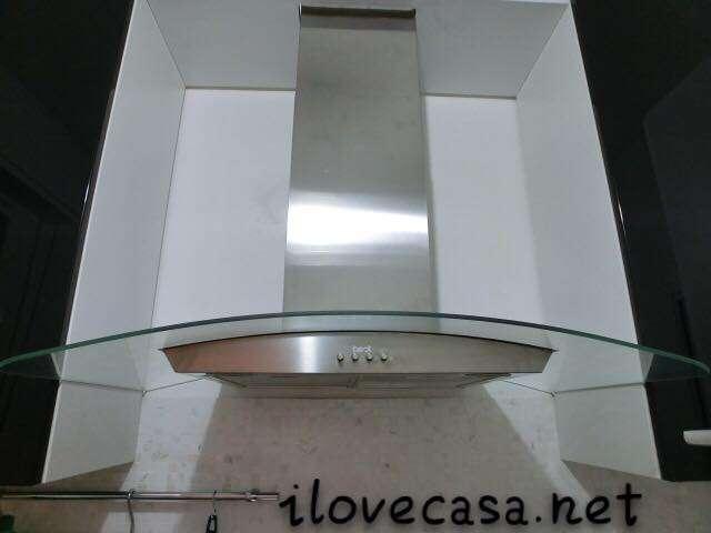 Decorazioni per cappa cucina con bancone restyling di una - Cappa da cucina ikea ...