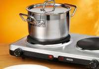 Un fornello elettrico ti salva la vita quando sei senza cucina