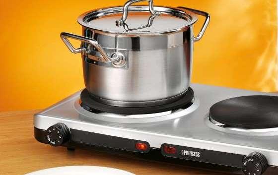 Fornello elettrico opinioni consumi potenza con 1 o 2 piastre - Cucina senza fornelli ...