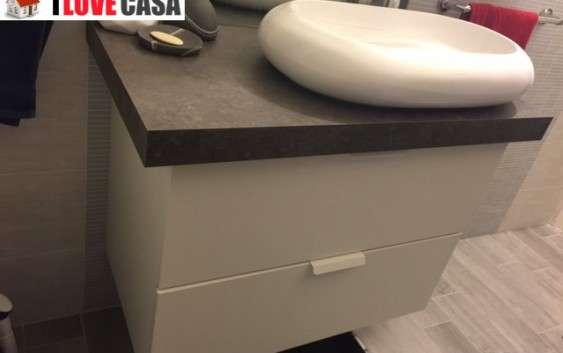 Mobile Da Bagno Fai Da Te : Mobile da bagno moderno componibile con vaschetta ceramica