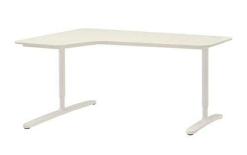 Postazione PC: scrivania, poltrona IKEA e supporto multi-monitor da tavolo - I Love Casa