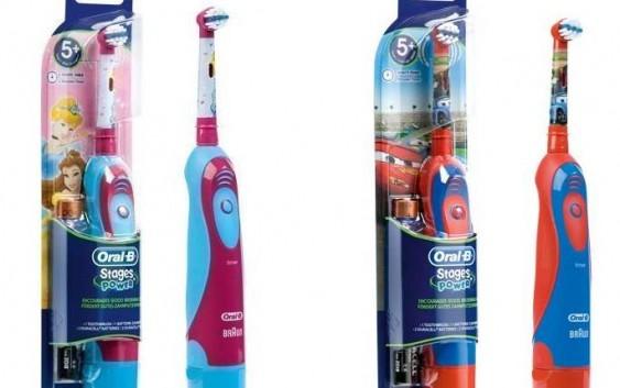 Spazzolini elettrici per bambini come far lavare denti bene