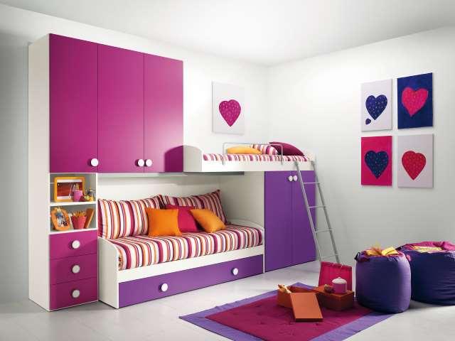 Come arredare camera da letto mobili accessori moderna for Camera bambini ikea