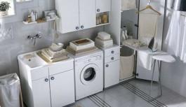Come arredare bagno lavanderia piccolo