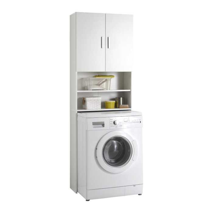 mobile lavatrice bianco