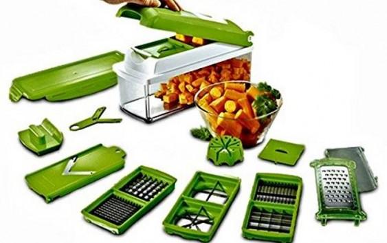 Taglia verdure e frutta a cubetti affetta tutto per tagliare, affettare, sminuzzare e tritare