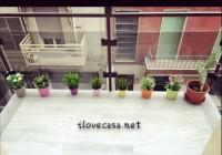 Come arredare un terrazzo piccolo con piante e piastrelle