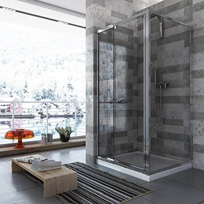 Parete In Vetro Doccia : Tende box doccia parete vetro per vasca da bagno quale