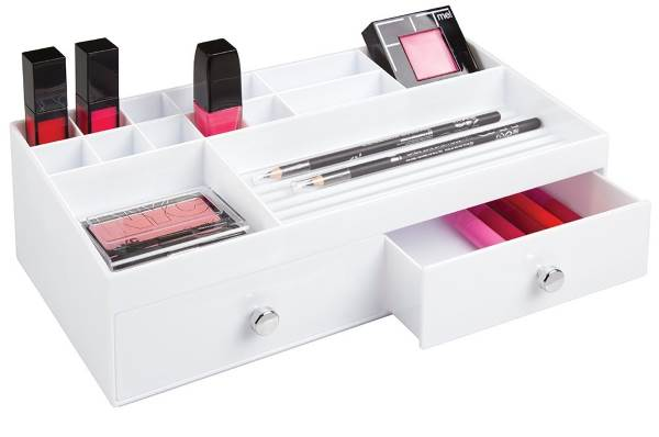 organizzatore cosmetici make up