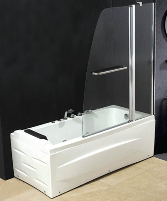 Tende box doccia parete vetro per vasca da bagno quale - Vasche da bagno leroy merlin ...