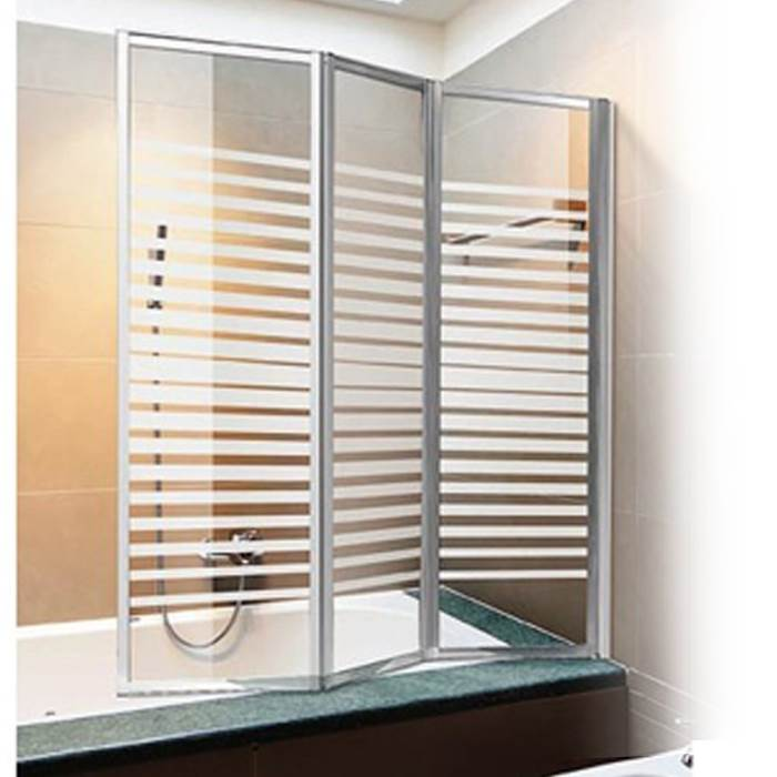 parete vetro box doccia cristallo