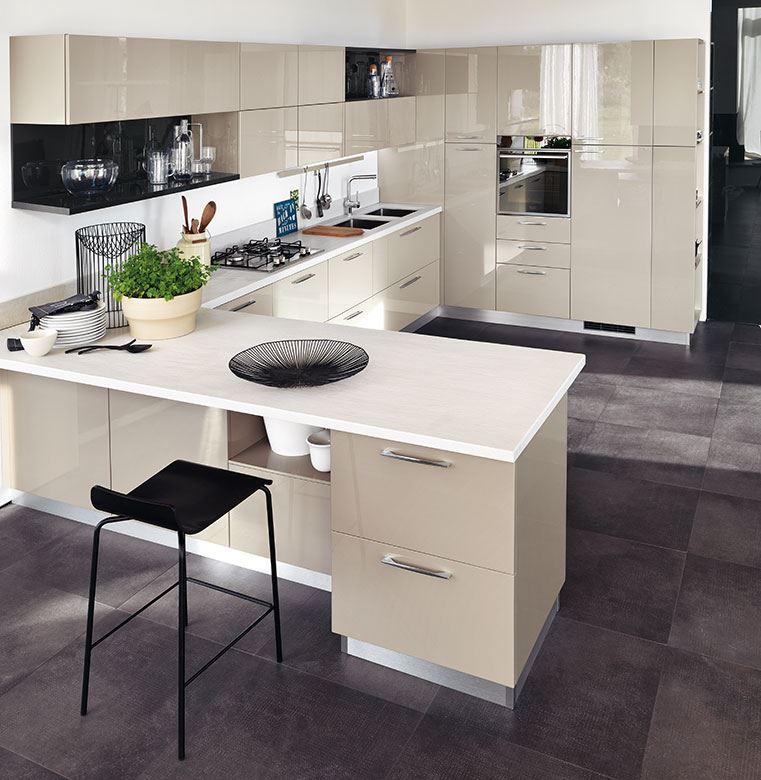 Penisola cucina piano e forno dimensioni modelli grandi piccole angolo - Cucine ikea con penisola ...