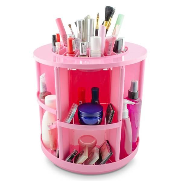 porta trucchi rosa make up