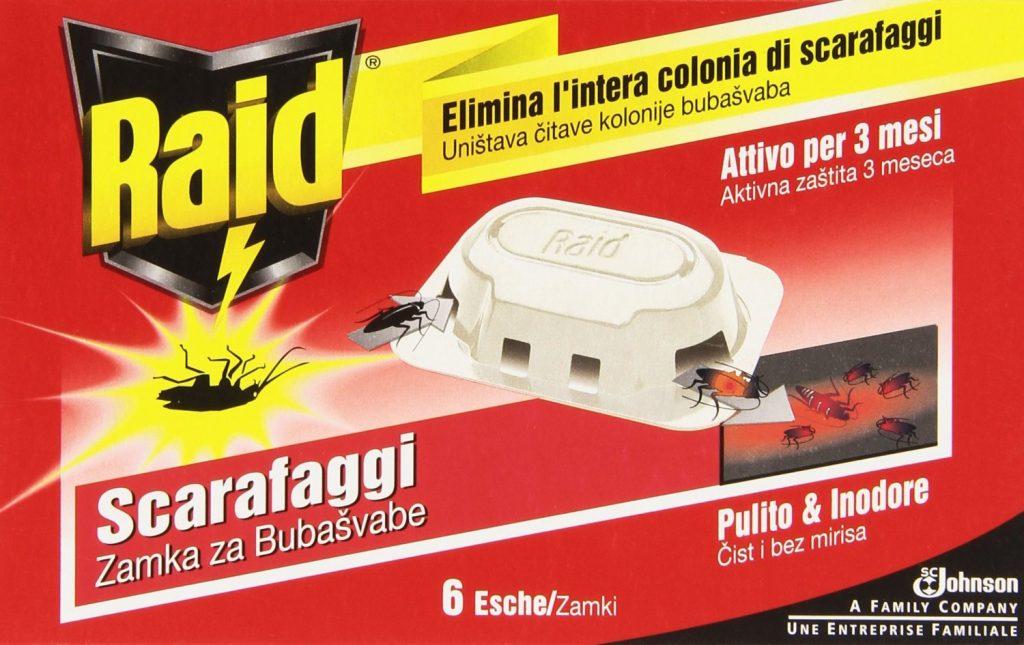 esche scarafaggi
