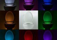 Luci LED da mettere dentro il Water di casa con sensore di movimento