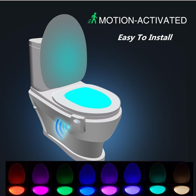 Luci led water wc casa sensore di movimento prezzo offerte for Luci led per casa