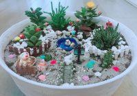 Come creare vasi fai da te con miniature e piante grasse