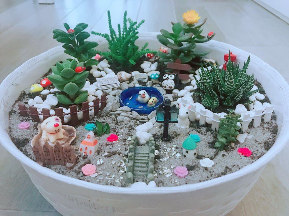 Come creare vasi fai da te con miniature e piante grasse - Vasi con piante grasse ...